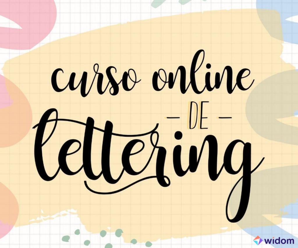 Curso de Lettering Online da Widom