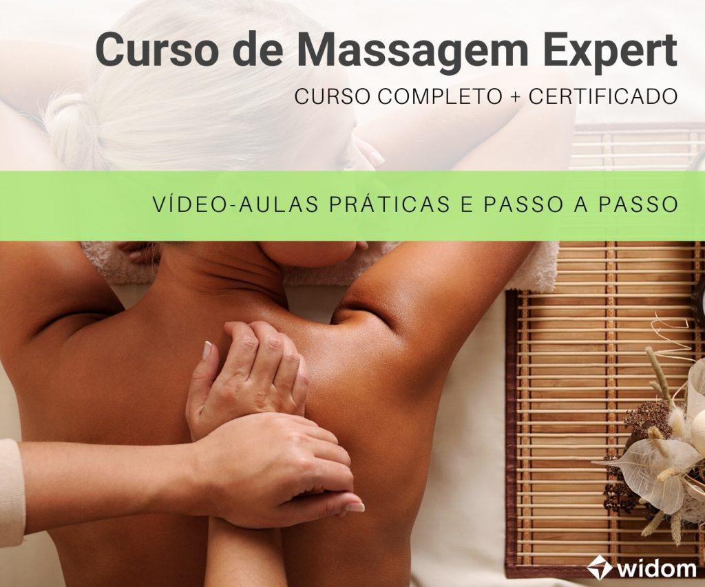 Curso de Massagem Online da Widom