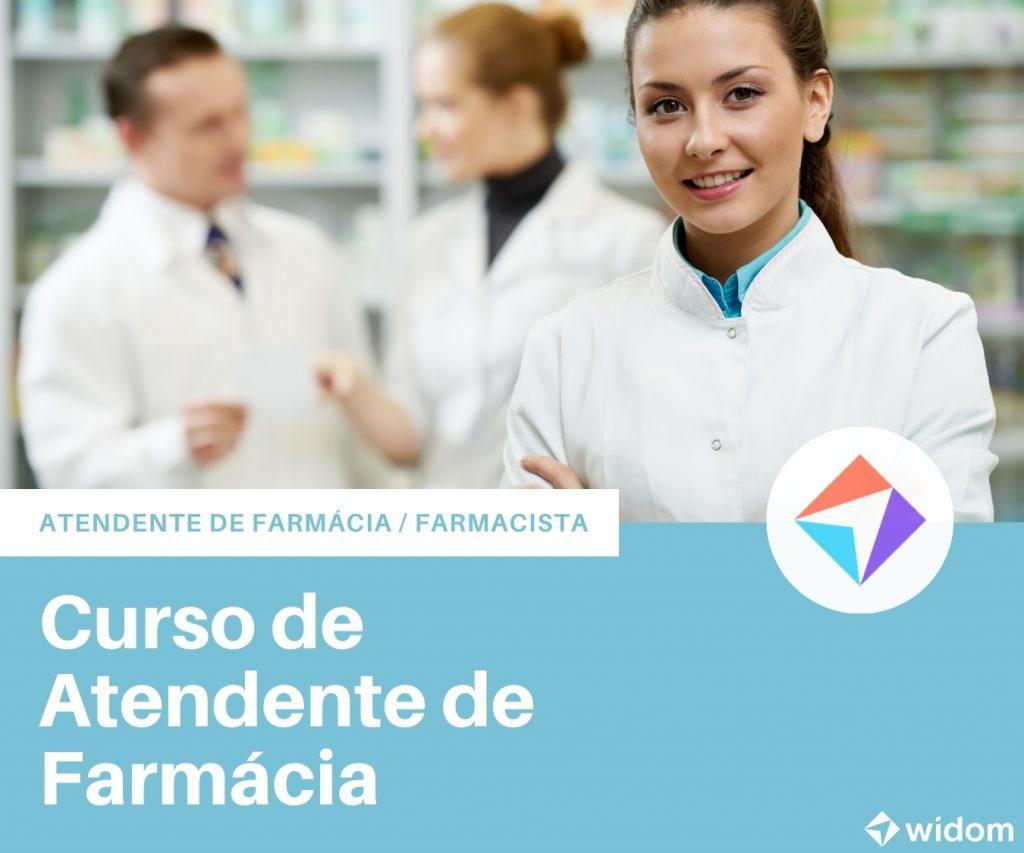 Curso de Atendente de Farmácia | Widom