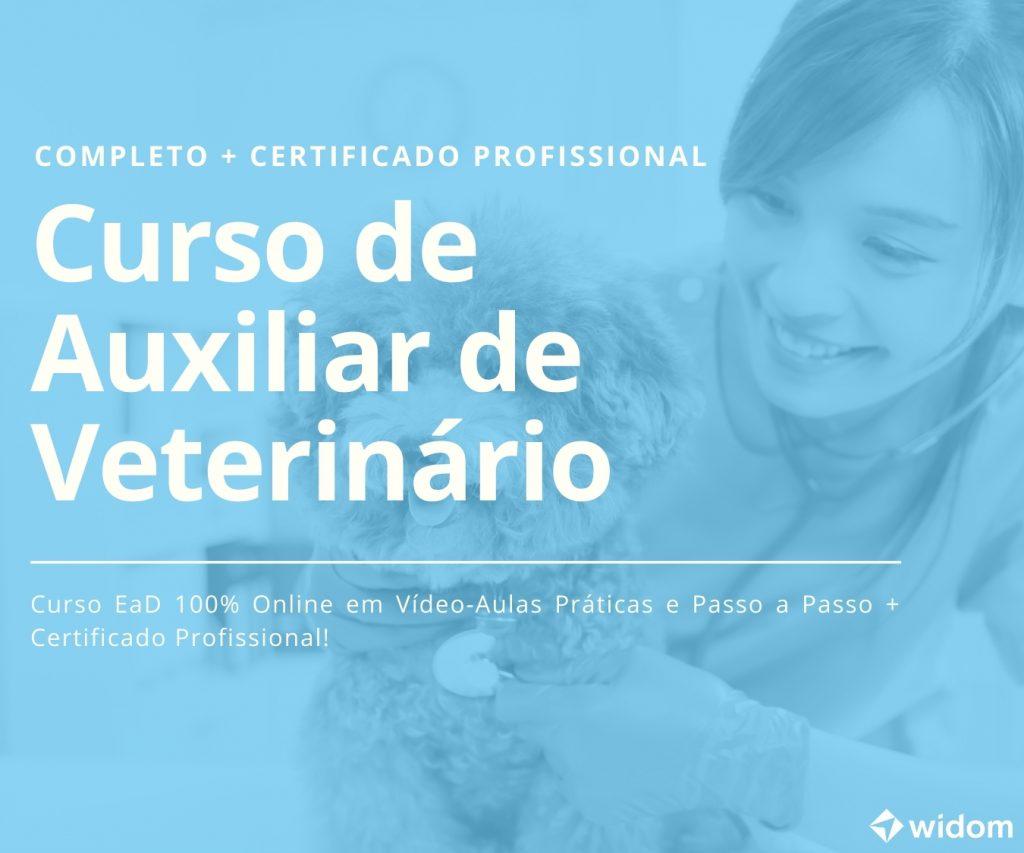 Curso de Auxiliar de Veterinário | Widom