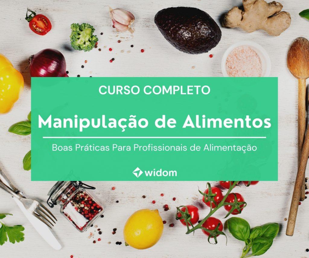 Curso de Manipulação de Alimentos da Widom