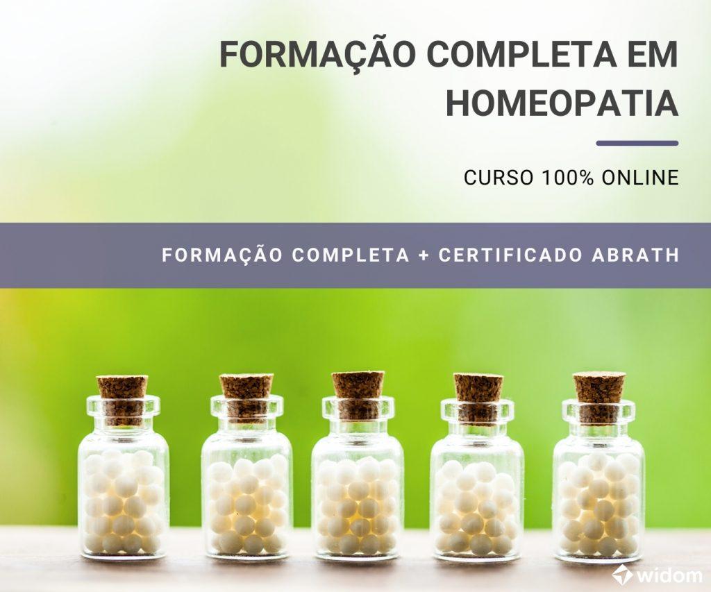 Curso de Homeopatia   Widom