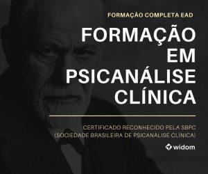 Curso de Psicanálise Clínica Online EaD | Widom