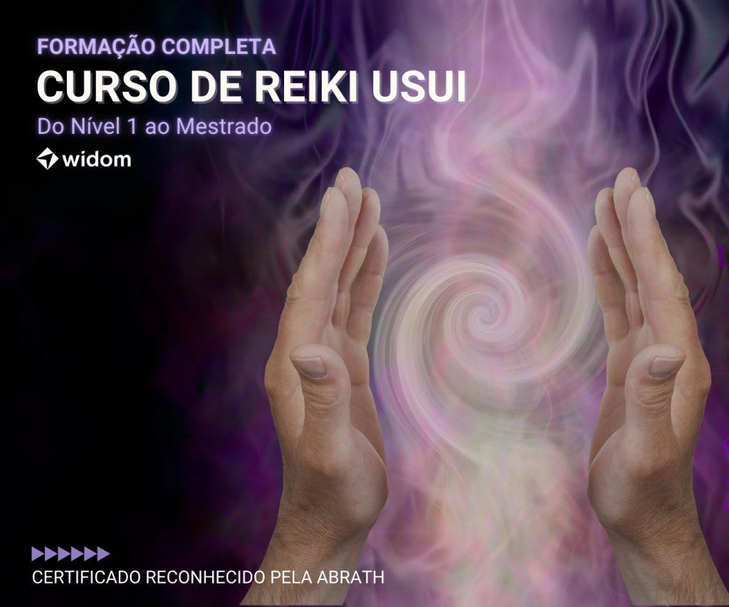 Curso de Reiki Usui Tradicional   Widom