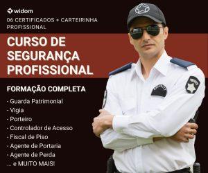 Curso de Segurança Profissional EaD | Widom