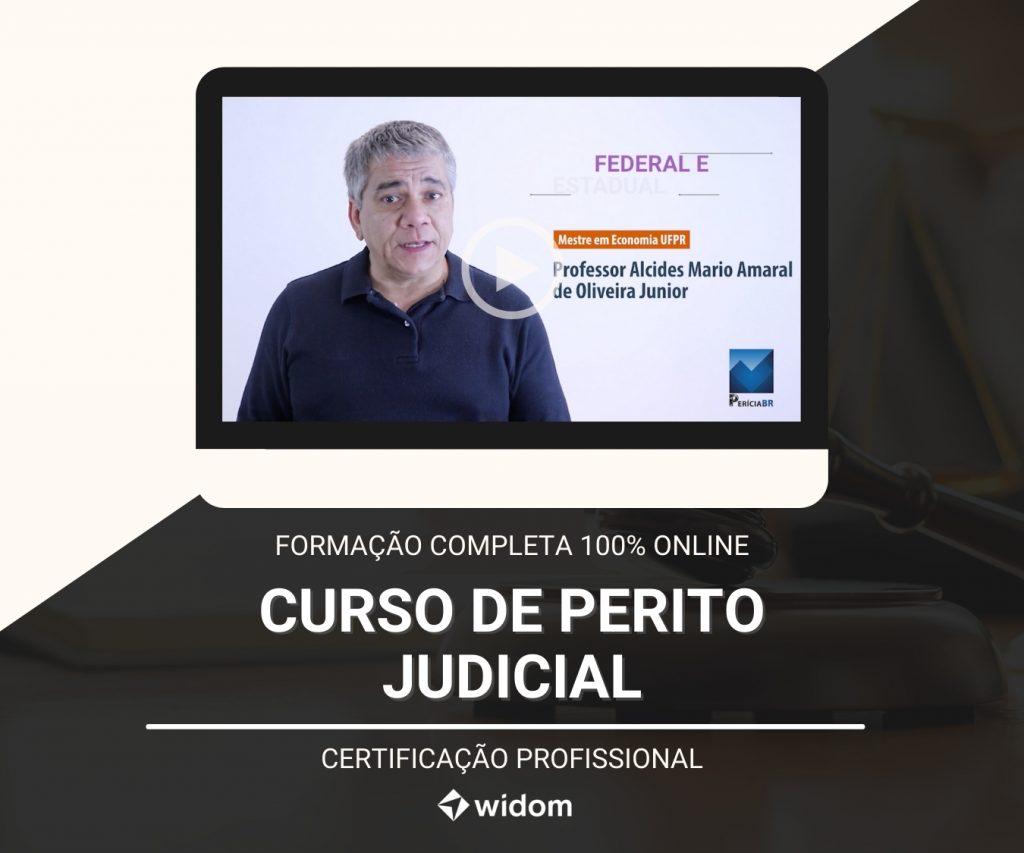 Curso de Perito Judicial | Formação Completa | Widom